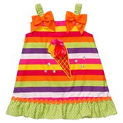 Youngland Striped Ice Cream Sundress - Toddler