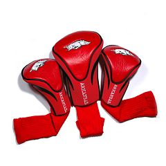 Team Golf Arkansas Razorbacks 3 pc Contour Head Cover Set