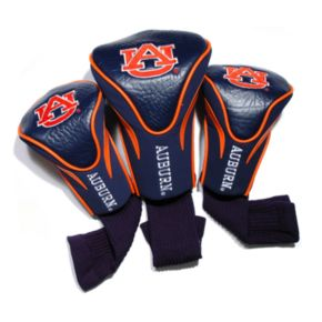 Team Golf Auburn Tigers 3-pc. Contour Head Cover Set