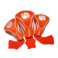 Team Golf Clemson Tigers 3 pc Contour Head Cover Set