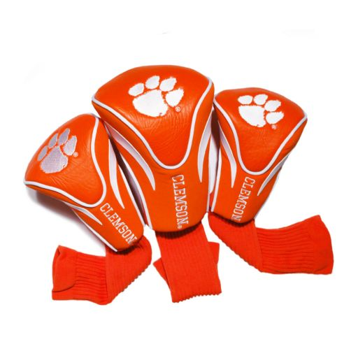 Team Golf Clemson Tigers 3-pc. Contour Head Cover Set