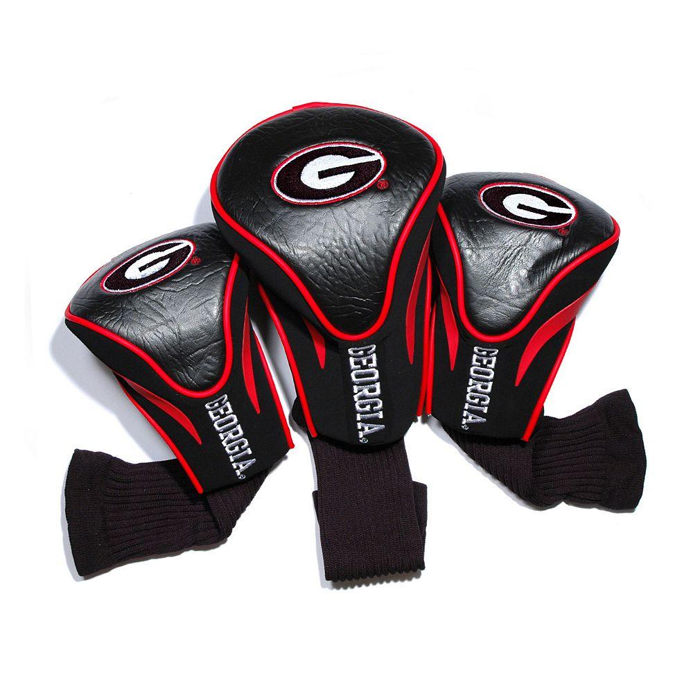 Team Golf Georgia Bulldogs 3-pc. Contour Head Cover Set