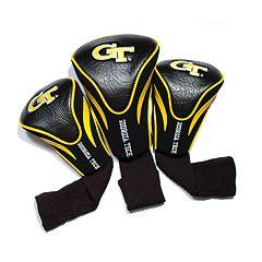 Team Golf Georgia Tech Yellow Jackets 3-pc. Contour Head Cover Set