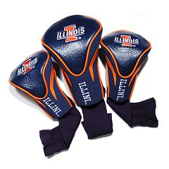 Team Golf Illinois Fighting Illini 3-pc. Contour Head Cover Set