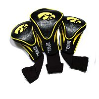Team Golf Iowa Hawkeyes 3 pc Contour Head Cover Set