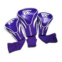 Team Golf Kansas State Wildcats 3 pc Contour Head Cover Set