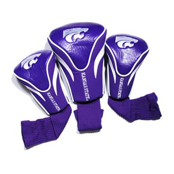 Team Golf Kansas State Wildcats 3-pc. Contour Head Cover Set