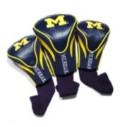 Team Golf Michigan Wolverines 3-pc. Contour Head Cover Set