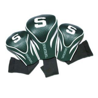 Team Golf Michigan State Spartans 3-pc. Contour Head Cover Set