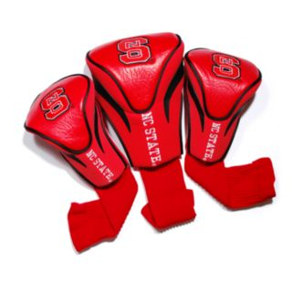 Team Golf North Carolina State Wolfpack 3-pc. Contour Head Cover Set