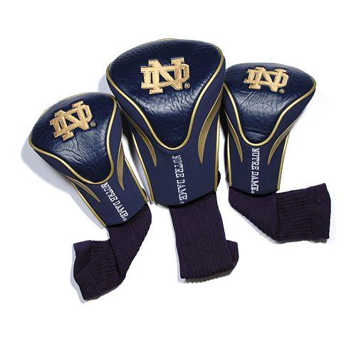 Team Golf Notre Dame Fighting Irish 3-pc. Contour Head Cover Set