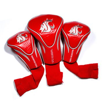Team Golf Washington State Cougars 3-pc. Contour Head Cover Set