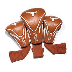 Team Golf Texas Longhorns 3-pc. Contour Head Cover Set