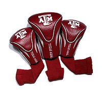 Team Golf Texas A&M Aggies 3 pc Contour Head Cover Set