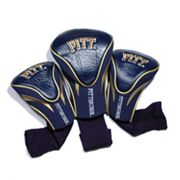 Team Golf Pitt Panthers 3-pc. Contour Head Cover Set