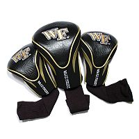 Team Golf Wake Forest Demon Deacons 3-pc. Contour Head Cover Set