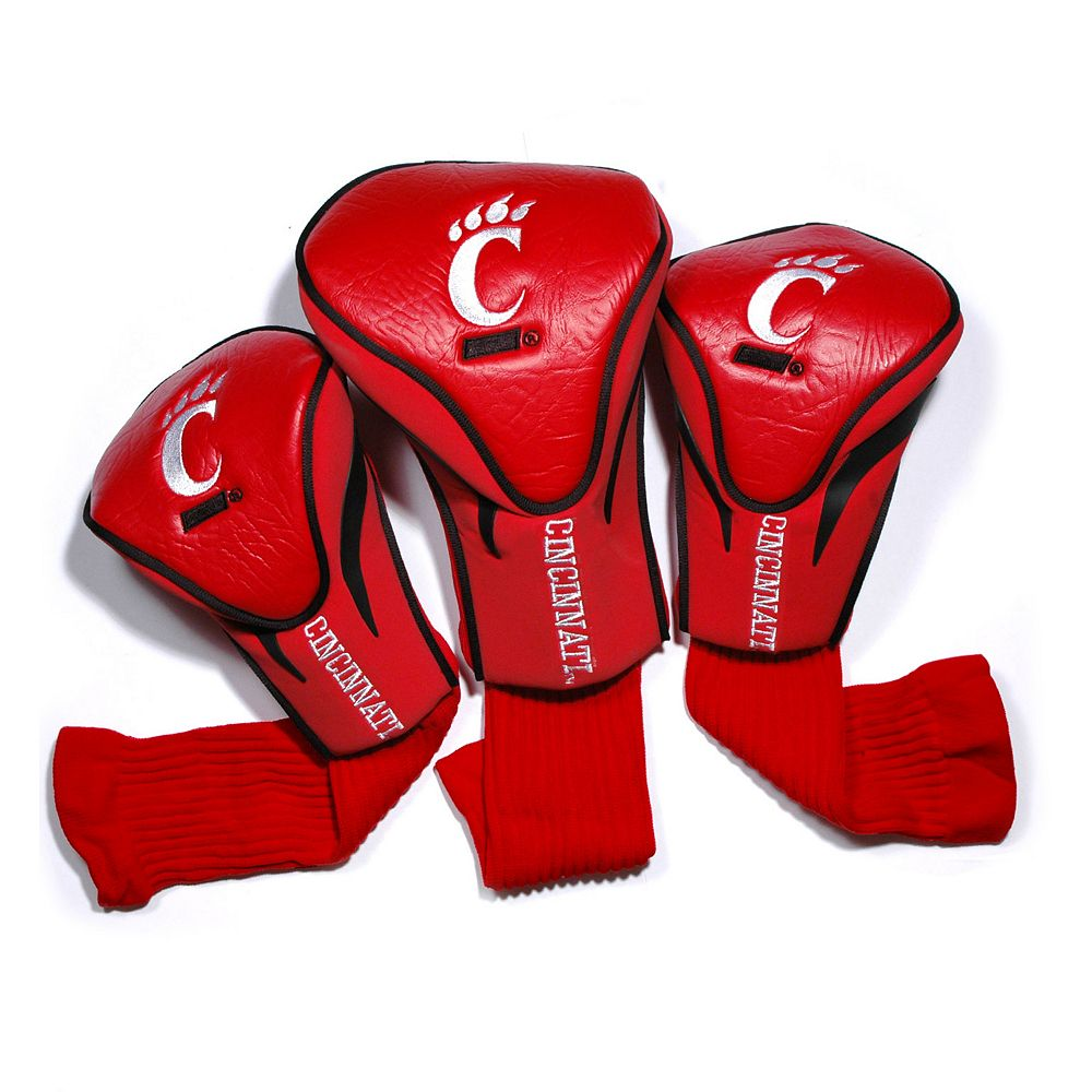 Team Golf Cincinnati Bearcats 3-pc. Contour Head Cover Set