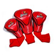 Team Golf Louisville Cardinals 3-pc. Contour Head Cover Set