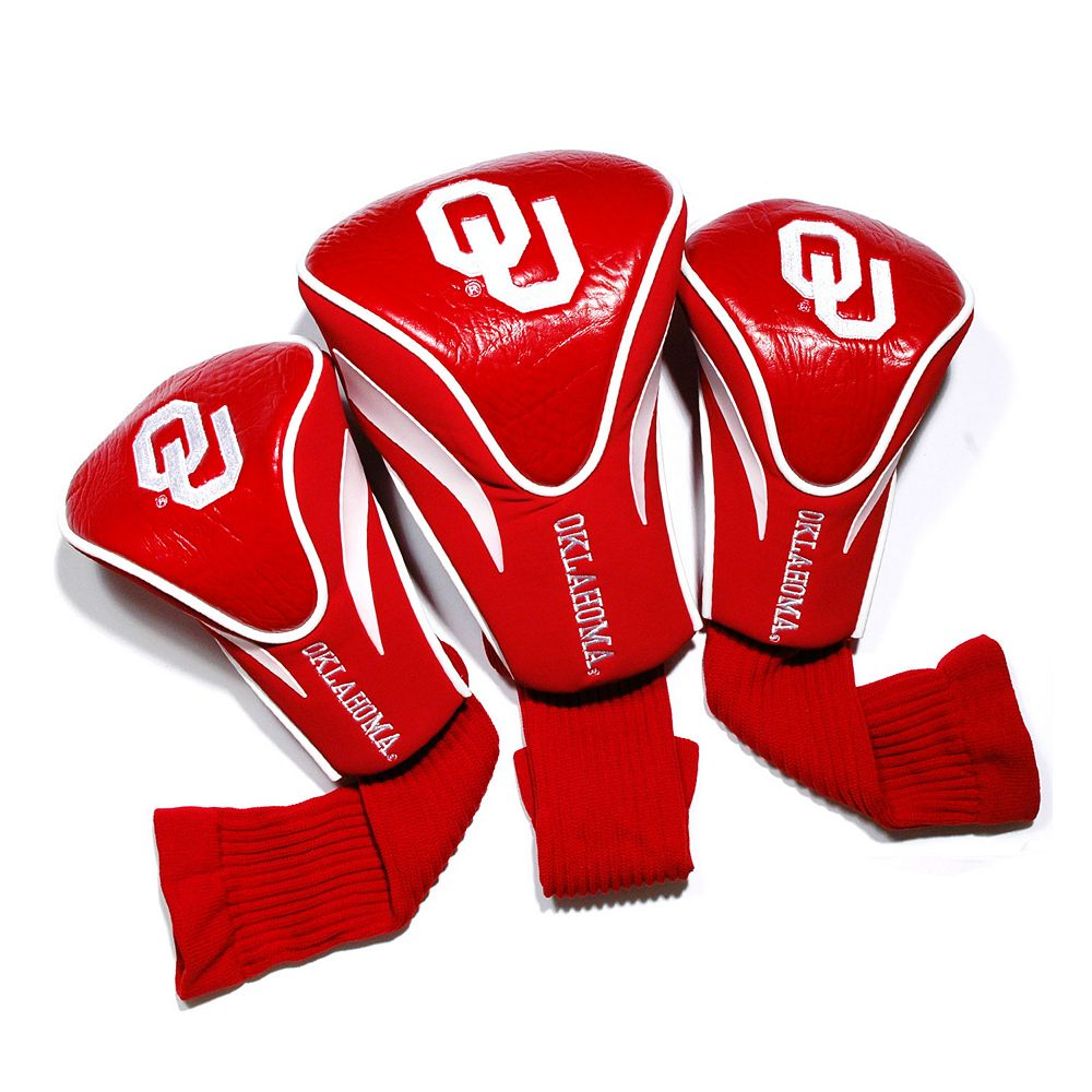 Team Golf Oklahoma Sooners 3-pc. Contour Head Cover Set