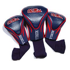 Team Golf Ole Miss Rebels 3-pc. Contour Head Cover Set