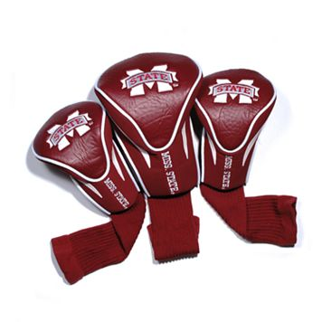 Team Golf Mississippi State Bulldogs 3-pc. Contour Head Cover Set