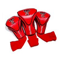 Team Golf Texas Tech Red Raiders 3-pc. Contour Head Cover Set