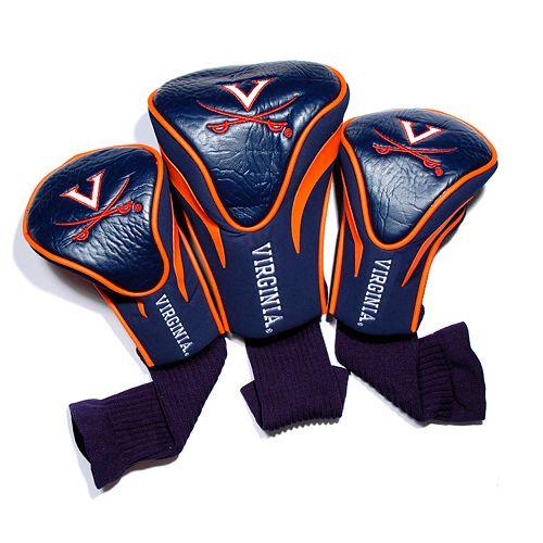 Team Golf Virginia Cavaliers 3-pc. Contour Head Cover Set
