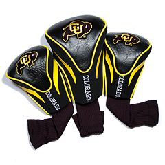 Team Golf Colorado Buffaloes 3-pc. Contour Head Cover Set