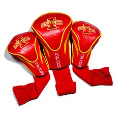 Team Golf Iowa State Cyclones 3 pc Contour Head Cover Set
