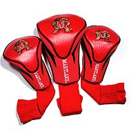 Team Golf Maryland Terrapins 3-pc. Contour Head Cover Set