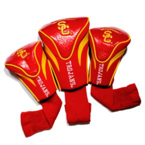 Team Golf USC Trojans 3-pc. Contour Head Cover Set