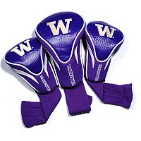 Team Golf Washington Huskies 3-pc. Contour Head Cover Set