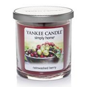Yankee Candle simply home 7-oz. Rainwashed Berry Jar Candle
