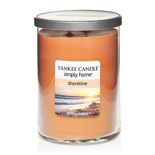 Yankee Candle simply home 19-oz  Shoreline Tumbler Jar Candle