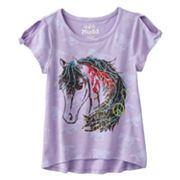 Mudd Horse Hi-Low Tee - Girls 4-6x