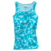 SO Tie-Dye Ribbed Tank - Girls 7-16