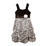IZ Amy Byer Zebra Pick Up-Style Dress - Girls 7-16
