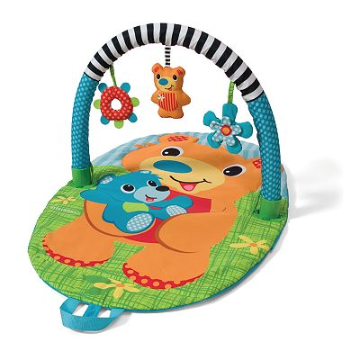 Infantino Explore and Store Bear Activity Gym