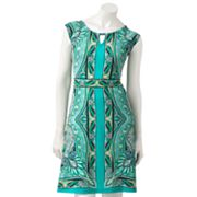Apt. 9 Scroll Keyhole Dress