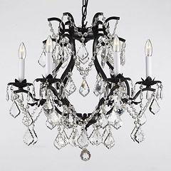 Gallery Versailles Crystal 6-Light Chandelier