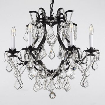 Gallery Versailles Crystal 6-Light Chandelier