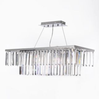 Gallery 8-Light Crystal Chandelier
