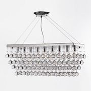Gallery 9-Light Retractable Crystal Chandelier