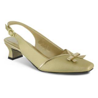 Easy Street Incredible Women's Slingback Dress Heels