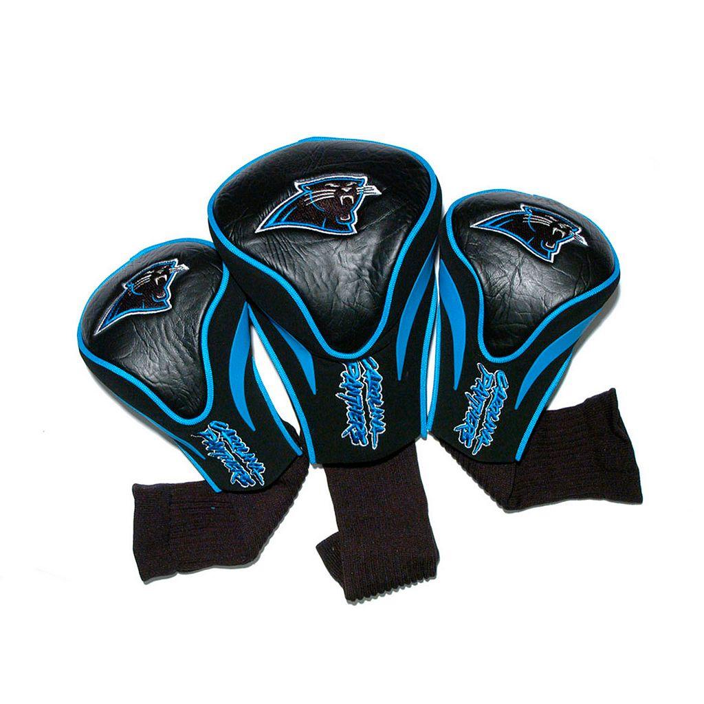 Team Golf Carolina Panthers 3-pc. Contour Head Cover Set