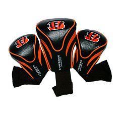 Team Golf Cincinnati Bengals 3-pc. Contour Head Cover Set