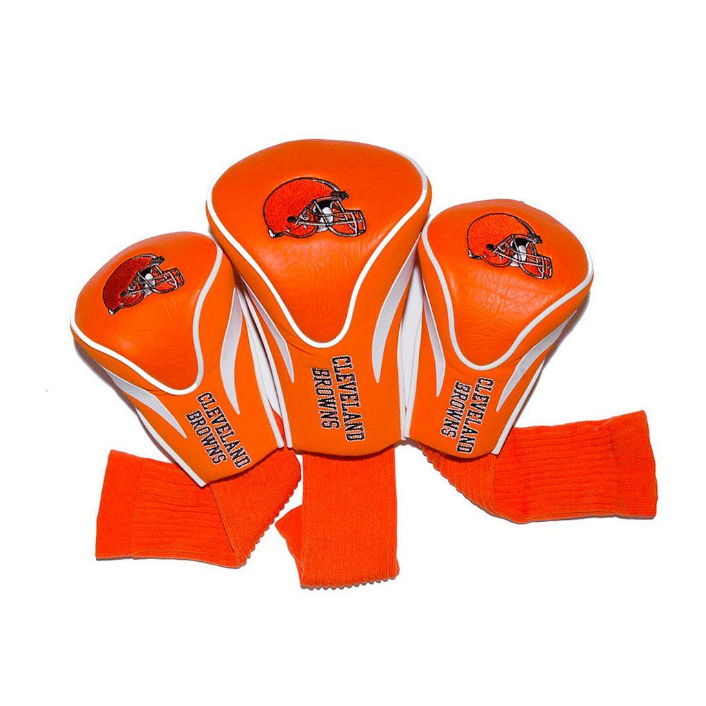 Team Golf Cleveland Browns 3-pc. Contour Head Cover Set