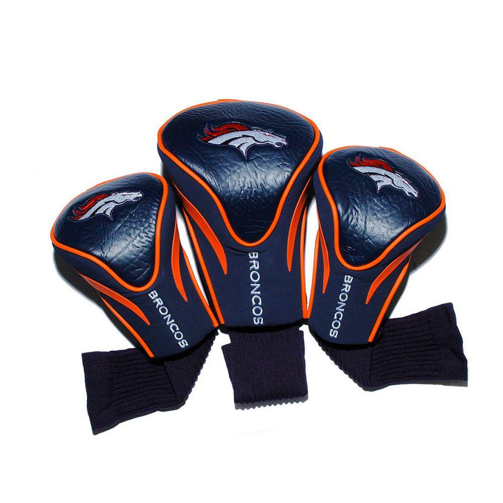 Team Golf Denver Broncos 3-pc. Contour Head Cover Set