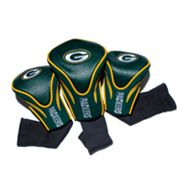 Team Golf Green Bay Packers 3-pc. Contour Head Cover Set