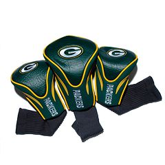 Team Golf Green Bay Packers 3 pc Contour Head Cover Set